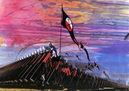 Gerald Scarfe Pink Floyd The Wall - Hammers